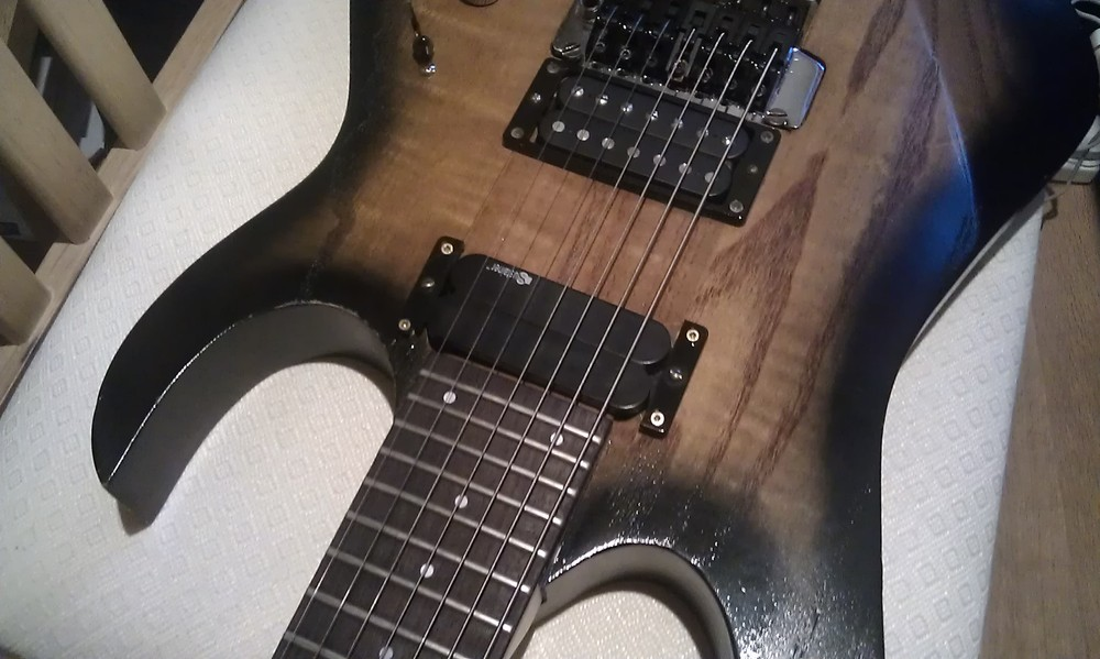 short note on guitar